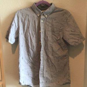 Vans men's short sleeve shirt